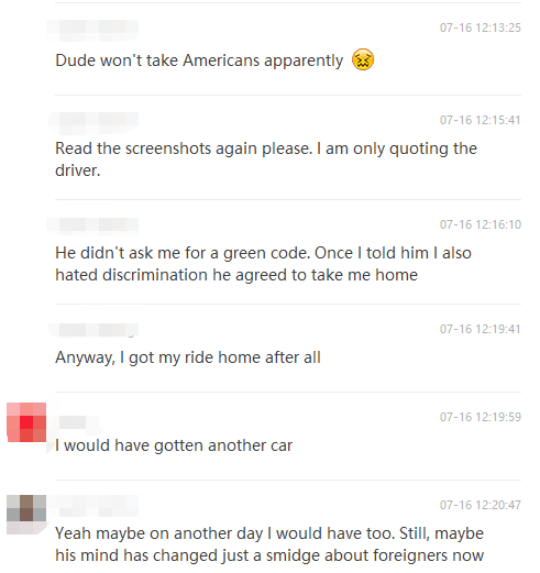 DiDi Driver 'Doesn't 'Like Americans'...