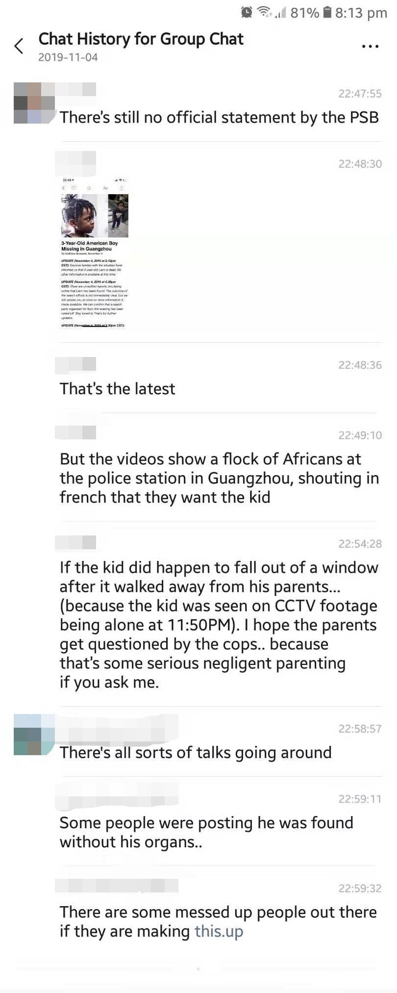3-Year-Old American Boy Found DEAD in Guangzhou?!