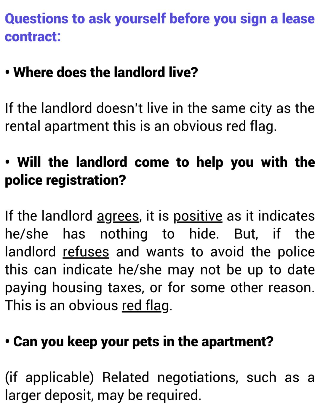 The Do's & Don'ts For Renting A House In China