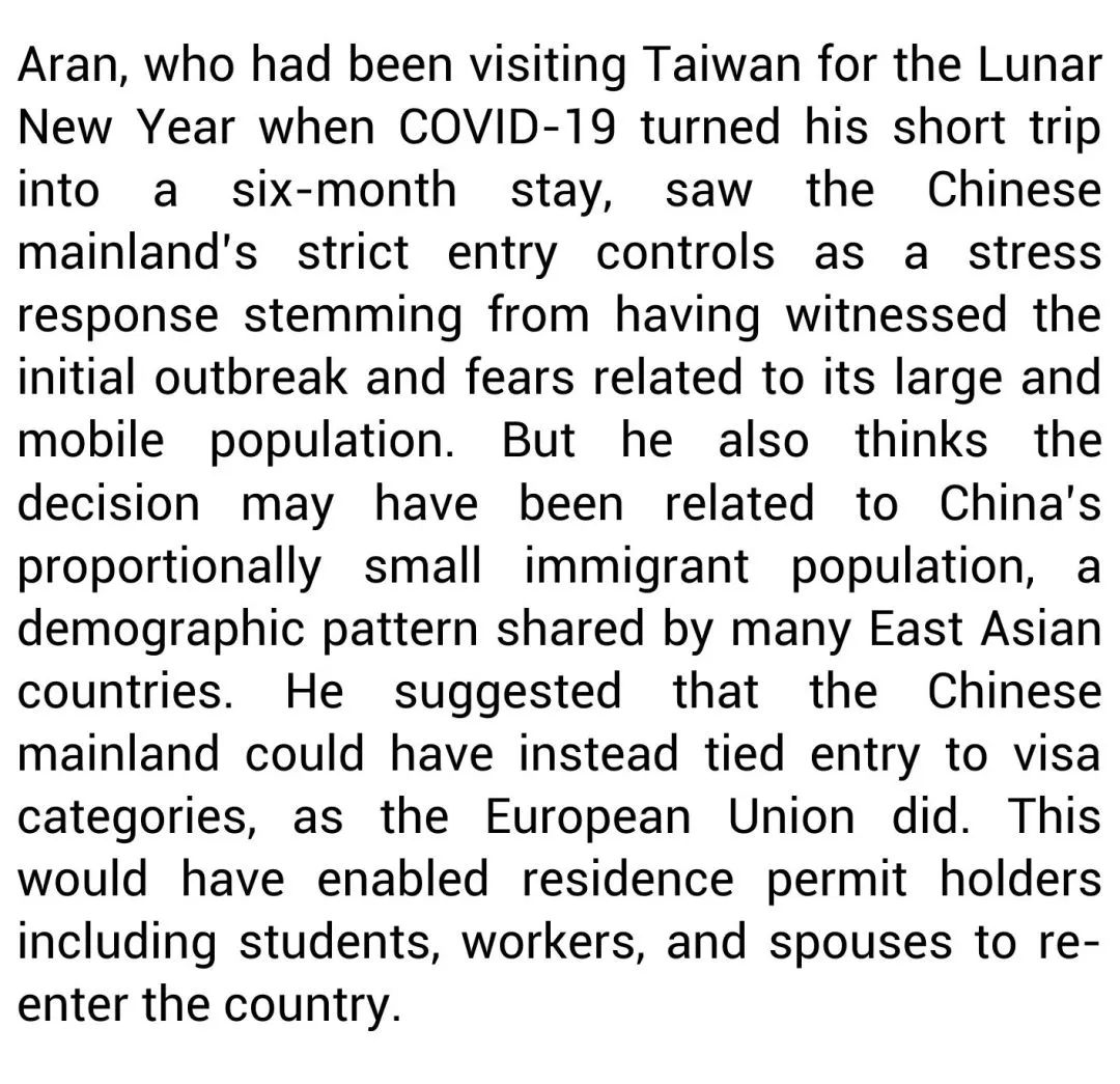 How China's Entry Bans Split Transnational Families